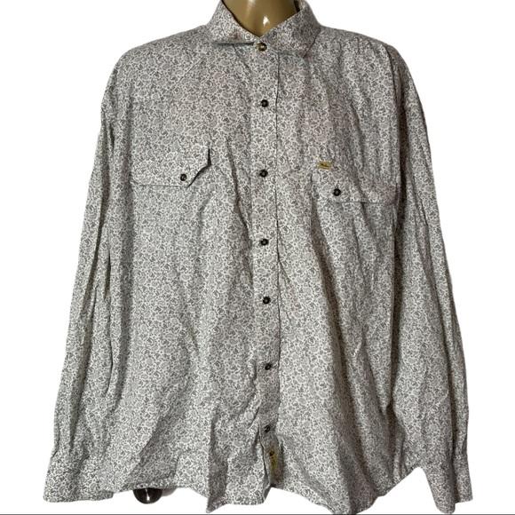 Larry Mahan Paisley Pearl Snap Western Shirt